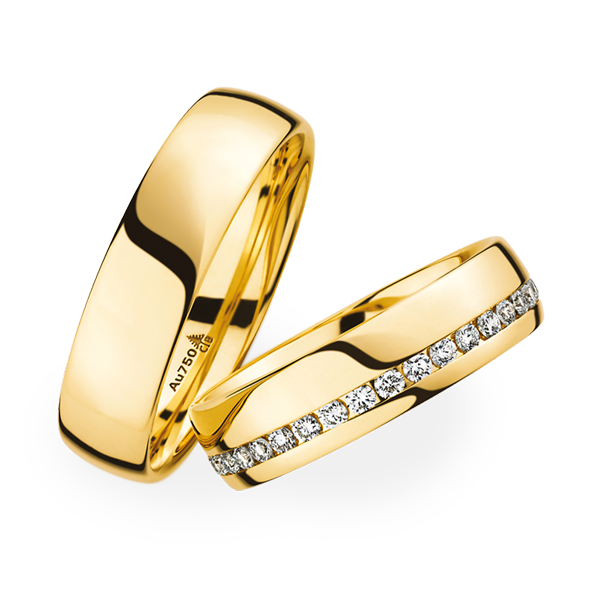 find this pin and more on trauringe 2012 yellow gold matching wedding rings