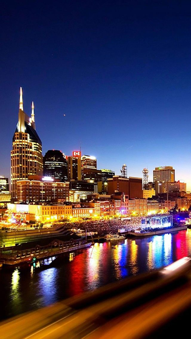 Pin On Nashville Impression Art Architecture Skyline And