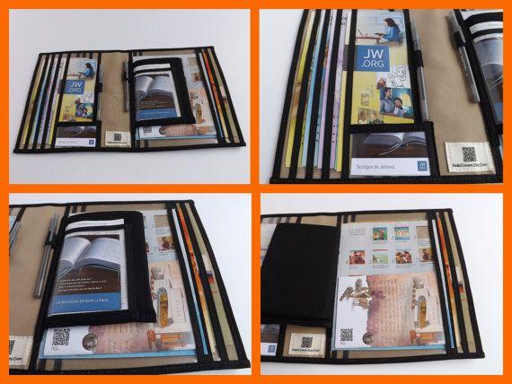 jw ministry organizer set magazine holderfolio by bellocovers