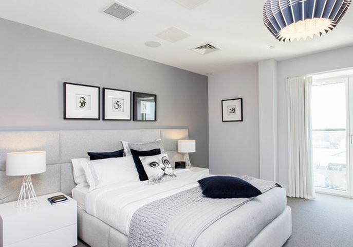 Deco Chambre adulte (chambre à coucher)  Moderne, zen, design