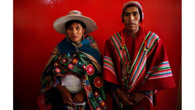 350 S Married In Colorful Bolivian M Wedding
