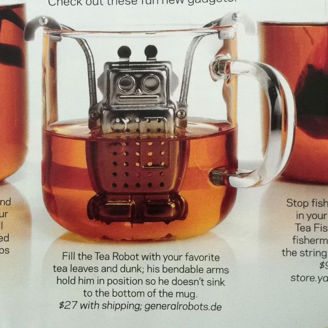 Robot Tea Infuser, Vicky!!!
