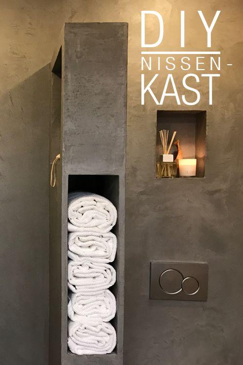 73b3e6ee740 DIY: Nissenkast - Eigen Huis & Tuin   Bathrooms in 2019 - Tuin ...