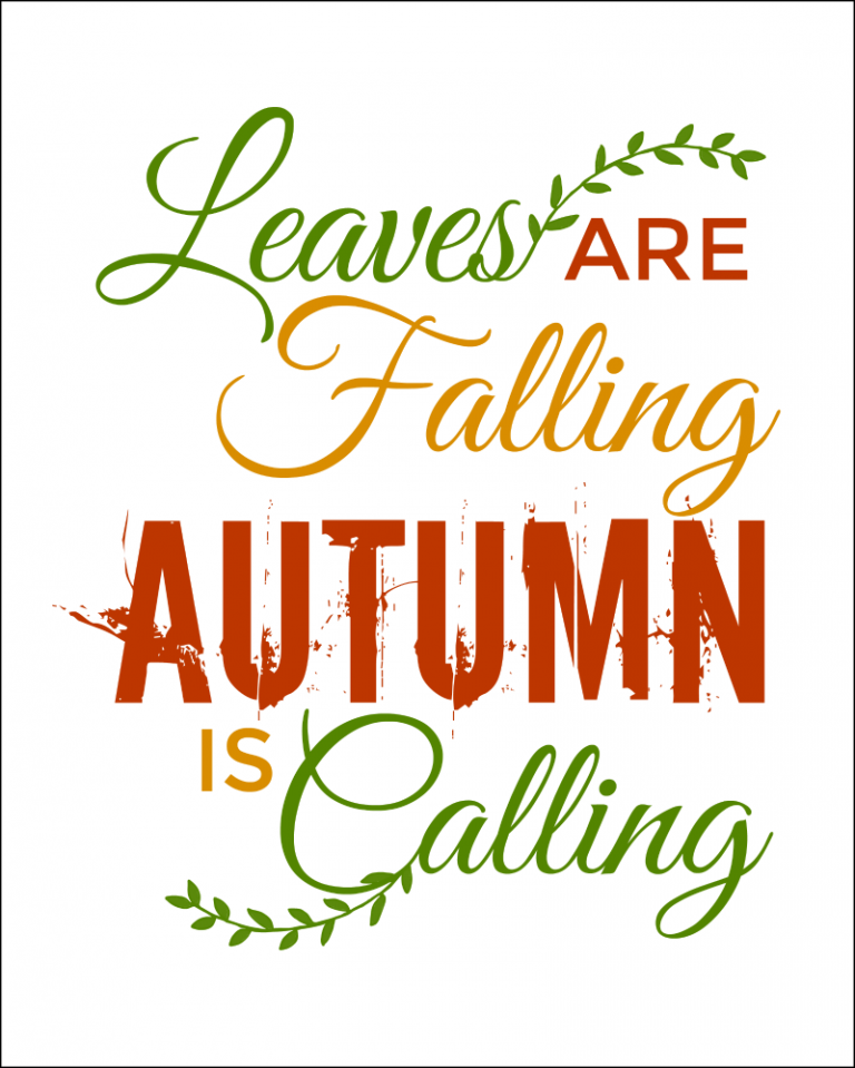 Fall Quotes Free Printables For Autumn Autumn quotes