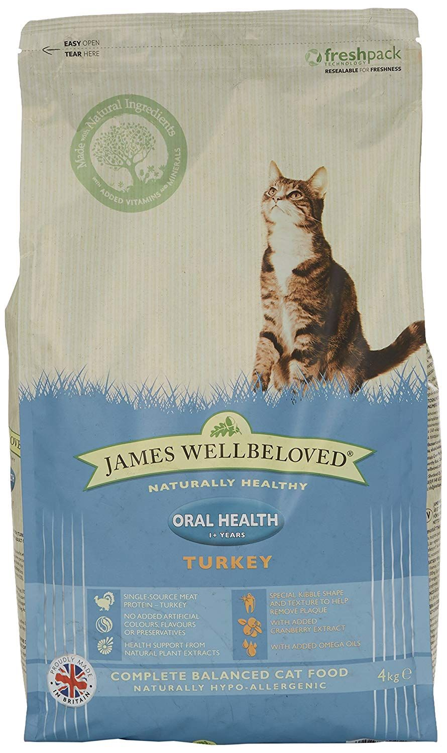 James Wellbeloved Dry Cat Food Turkey And Rice Oralcare 4kg Hope That You Actually Do Enjoy Our Image This Is An Affiliate Link Dry Cat Food Cat Food Cats