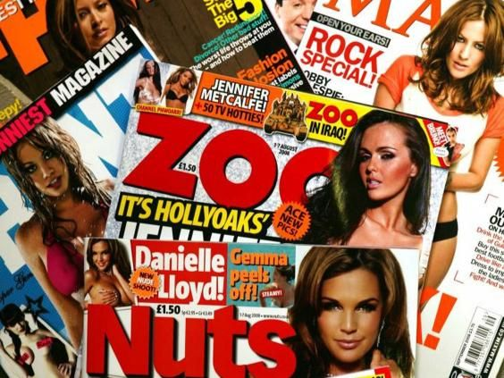 The demise of lads' mags and the rise of feminism | Comment | Voices | The Independent