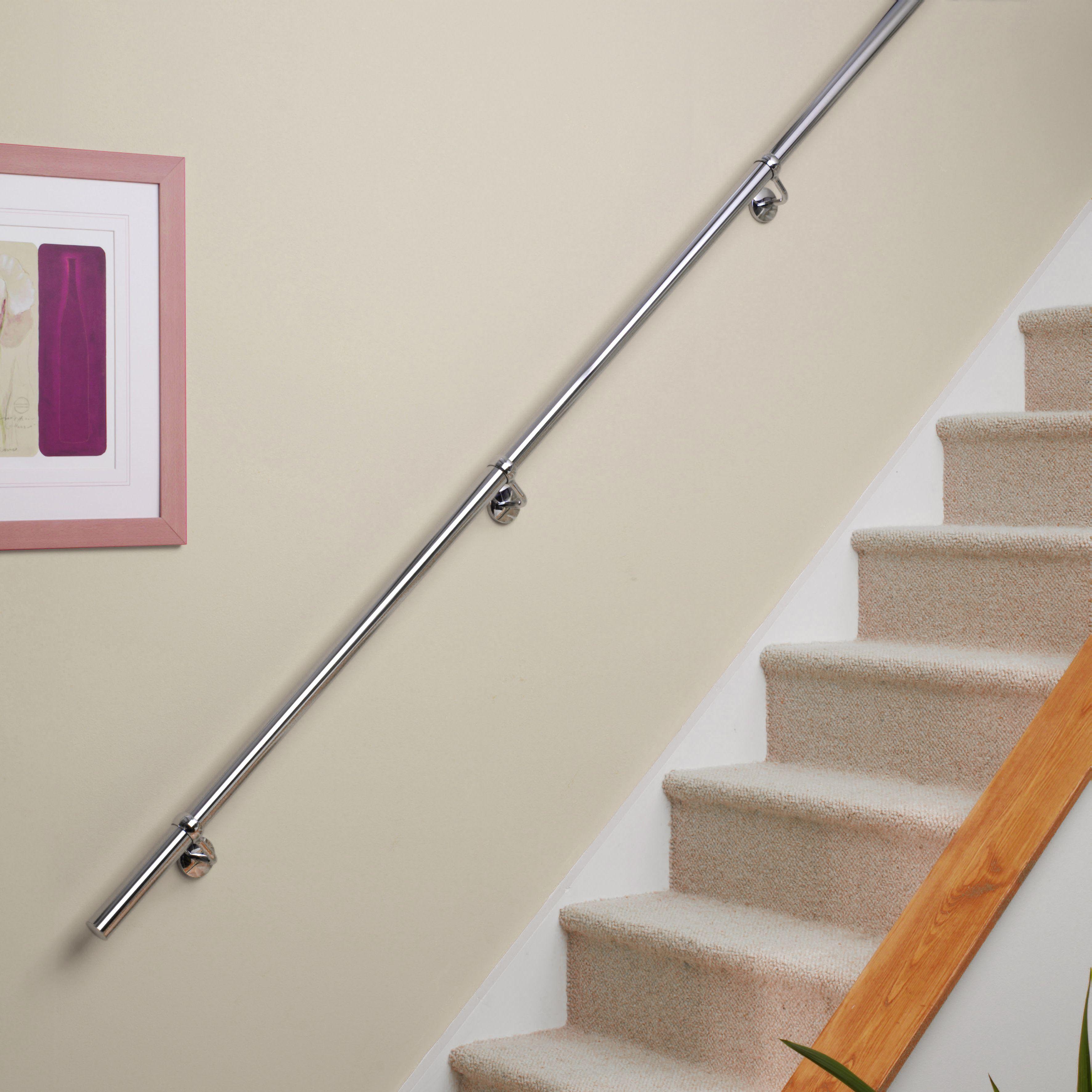 Stainless Steel Handrail Kit (L)3600mm