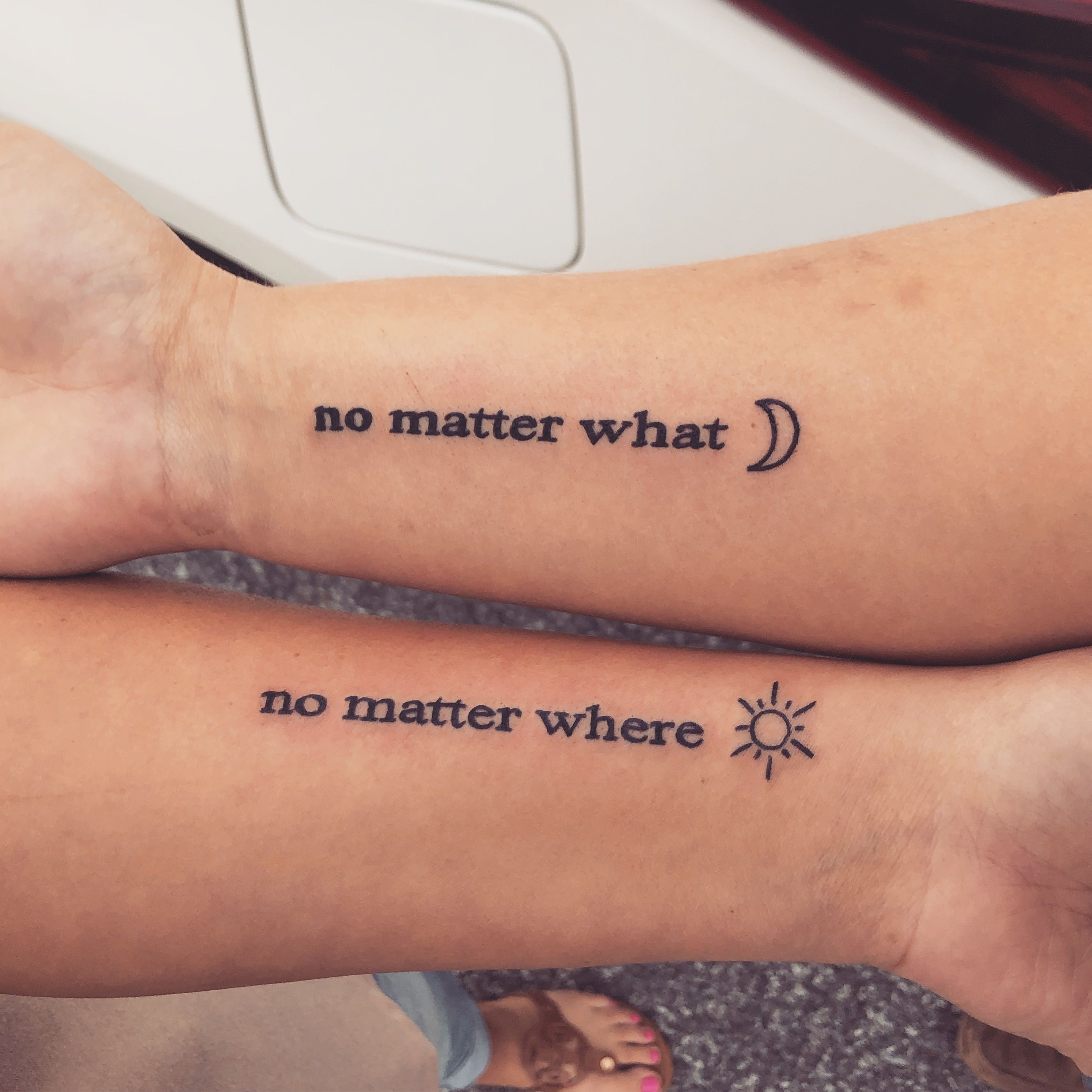 Best friend tattoos 💜