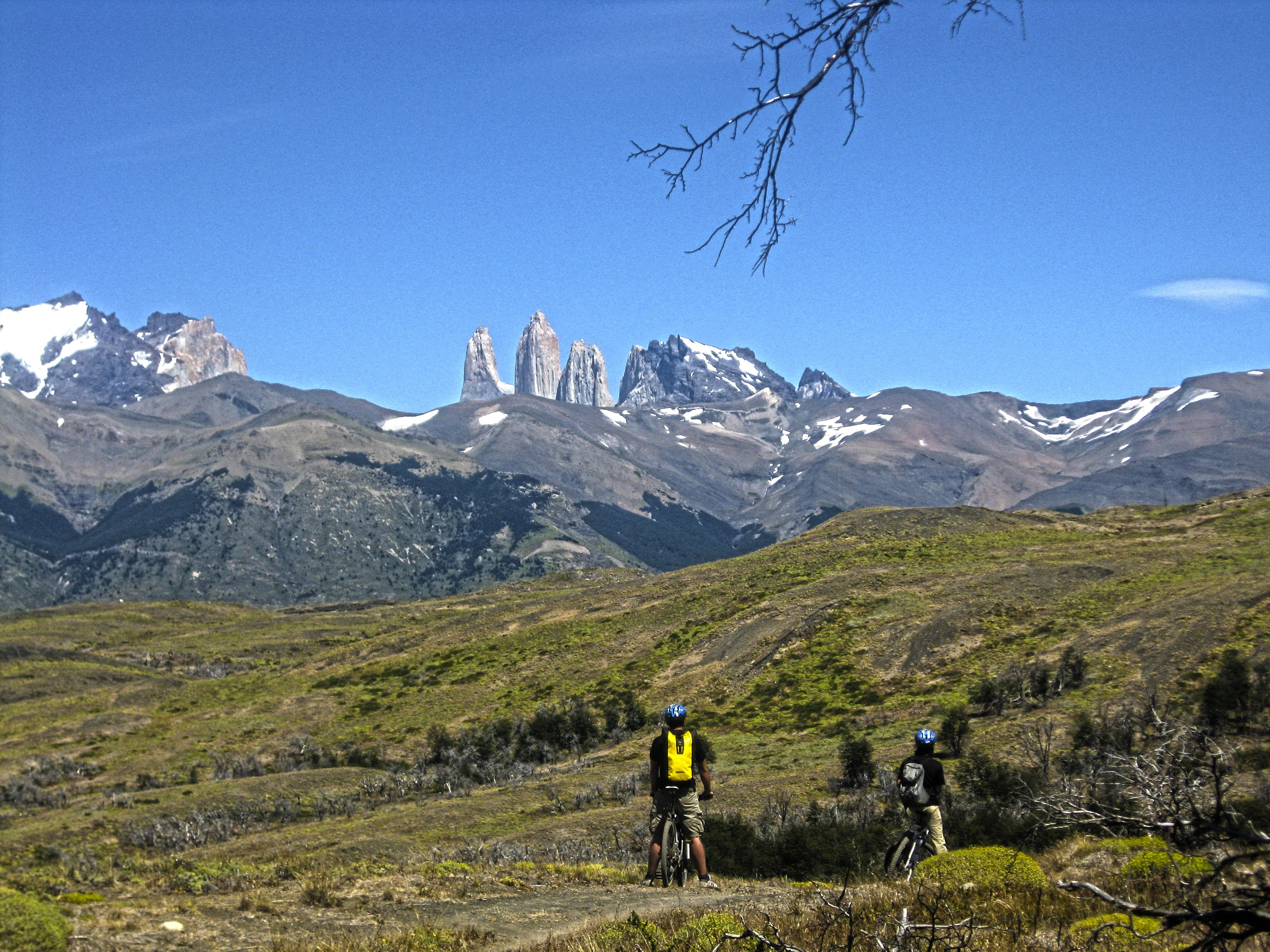 Cycling in Patagonia Torres del Paine N P Chile
