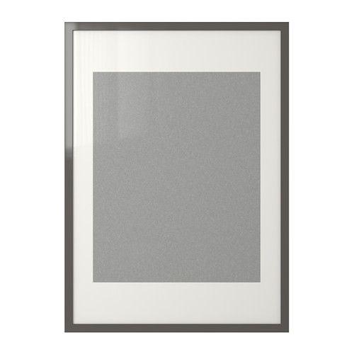 RIBBA Frame, black | High gloss, Room and Apartments
