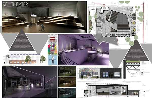 Graphic Interior Design Board Layout Ideas Pinterest