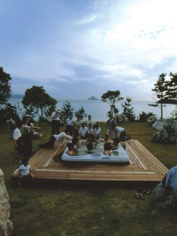 Cultural Melting Bath: Project for the 20th Century (1998) - Naoshima | Cai Guo-Qiang