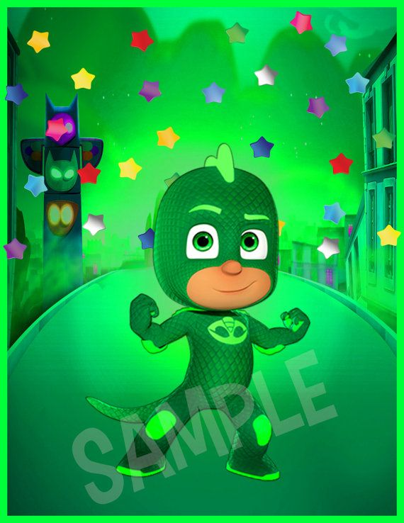 Pj Masks Wall Art Pj Masks Kids Poster Decor Pj by ...