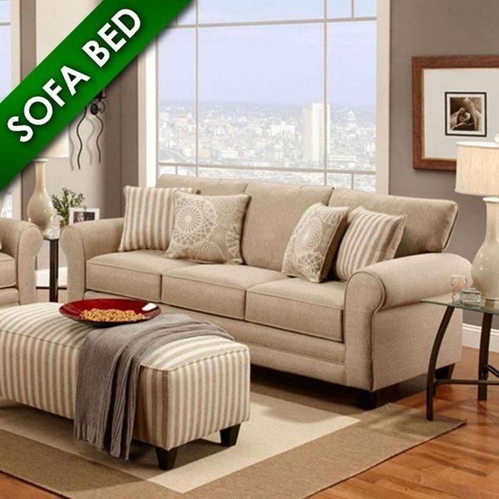 Sleeper Sofa In Vivid Khaki Nebraska Furniture Mart Morningside