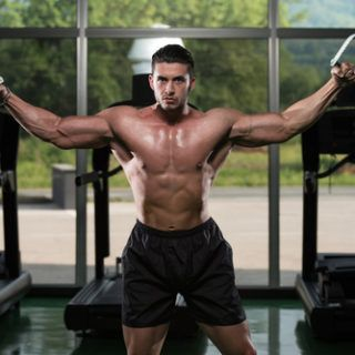 building muscle mass after 50  chest workout program