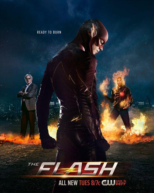 The Flash – Un poster con il nuovo Firestorm e uno spot dell'episodio 2.04