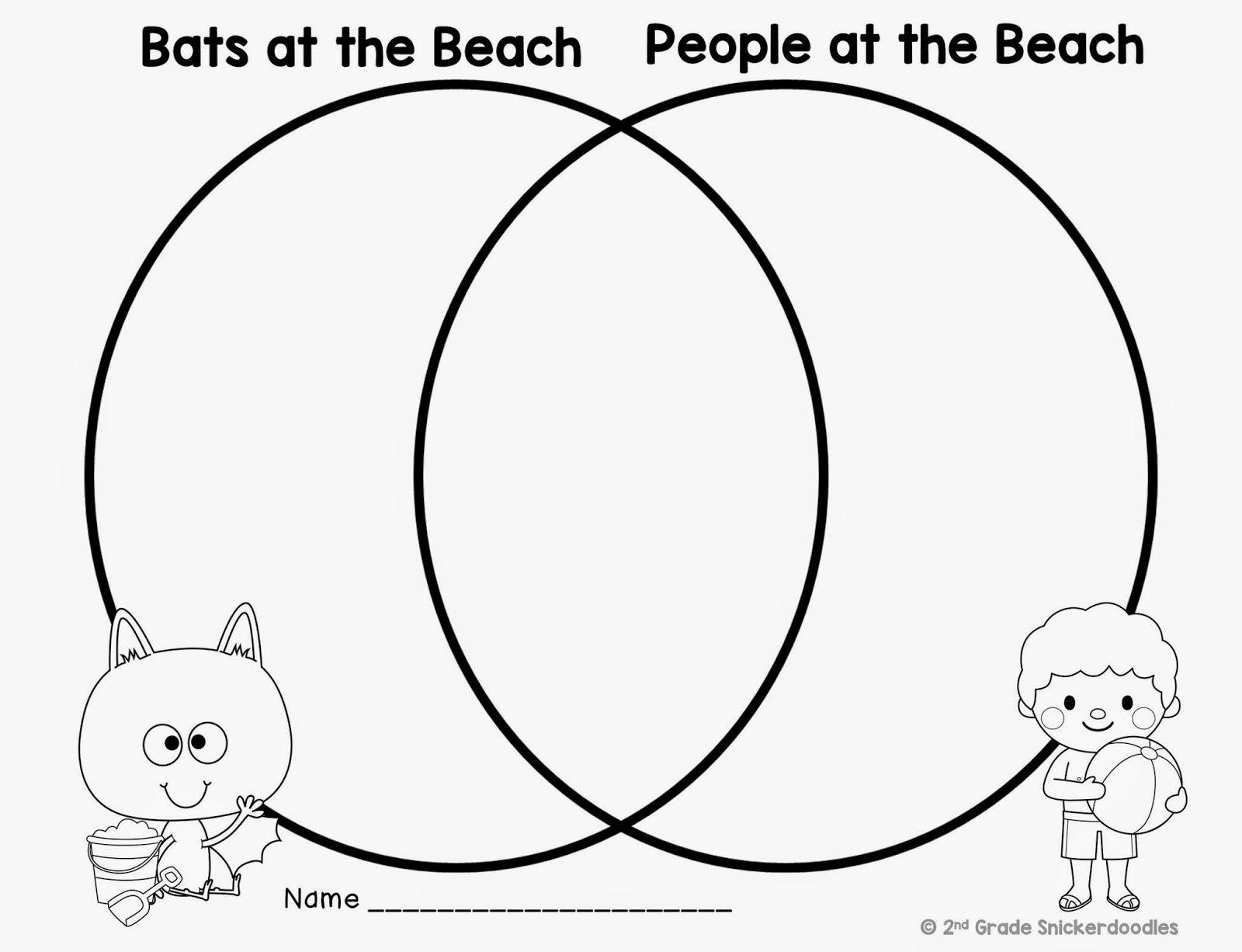 Bats At The Beach Freebie