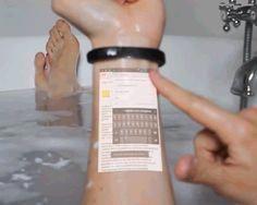 cicret bracelet macht Ihre Haut zu einem Touchscreen-Gerät   - Technology - #bracelet #Cicret #einem #Haut #Ihre #macht #Technology #TouchscreenGerät #gadgetskitchen