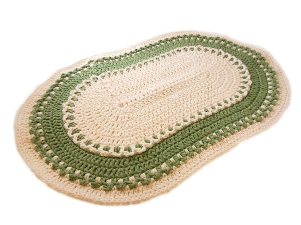 $1.99 or for Paid Members: This placemat is fairly easy to make and starts off as 3 rows and then is worked in the round. You can coordinate the colors to match your kitchen or for any occasion.