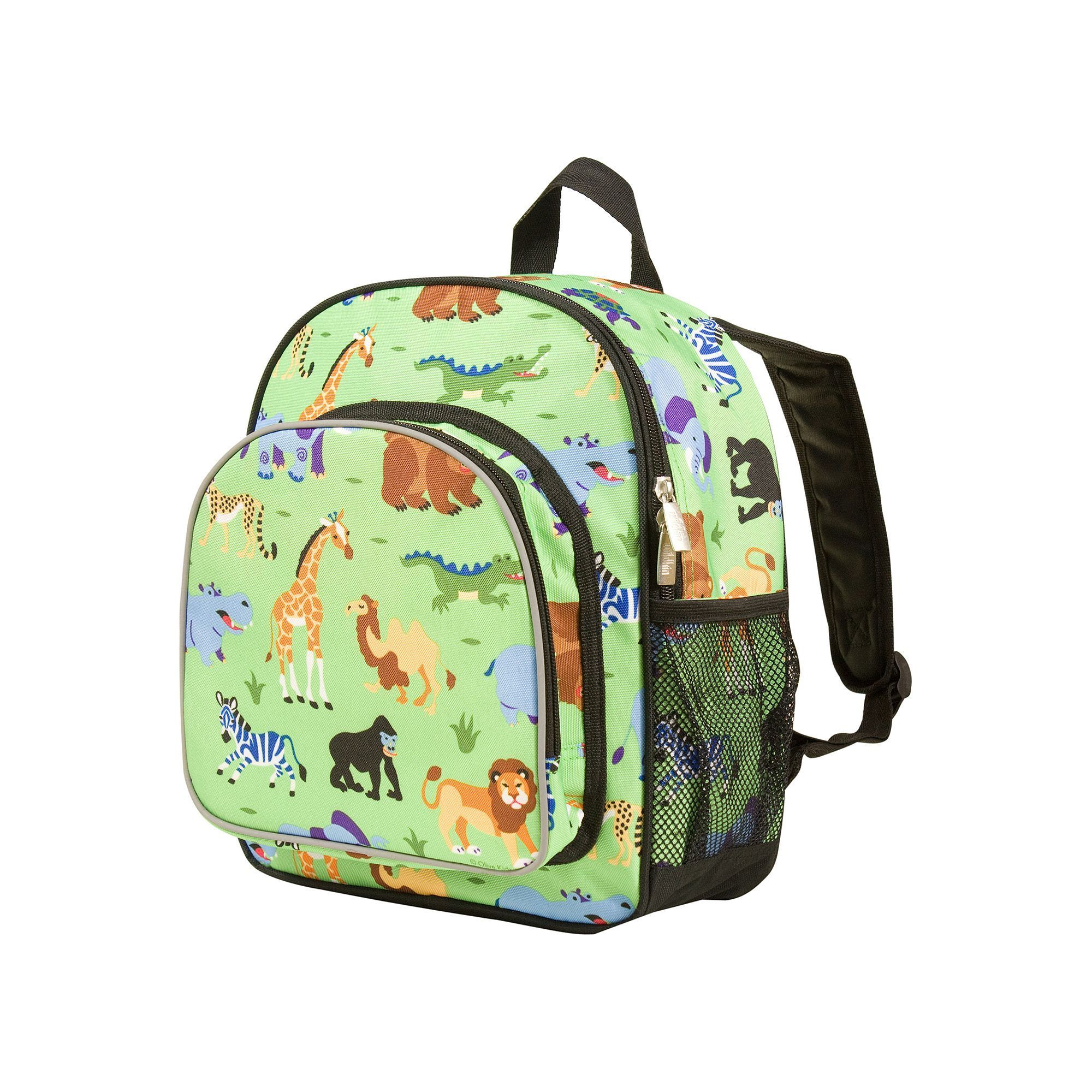 1144eb86dd Olive Kids Wildkin Wild Animals Pack  n Snack Backpack - Kids ...