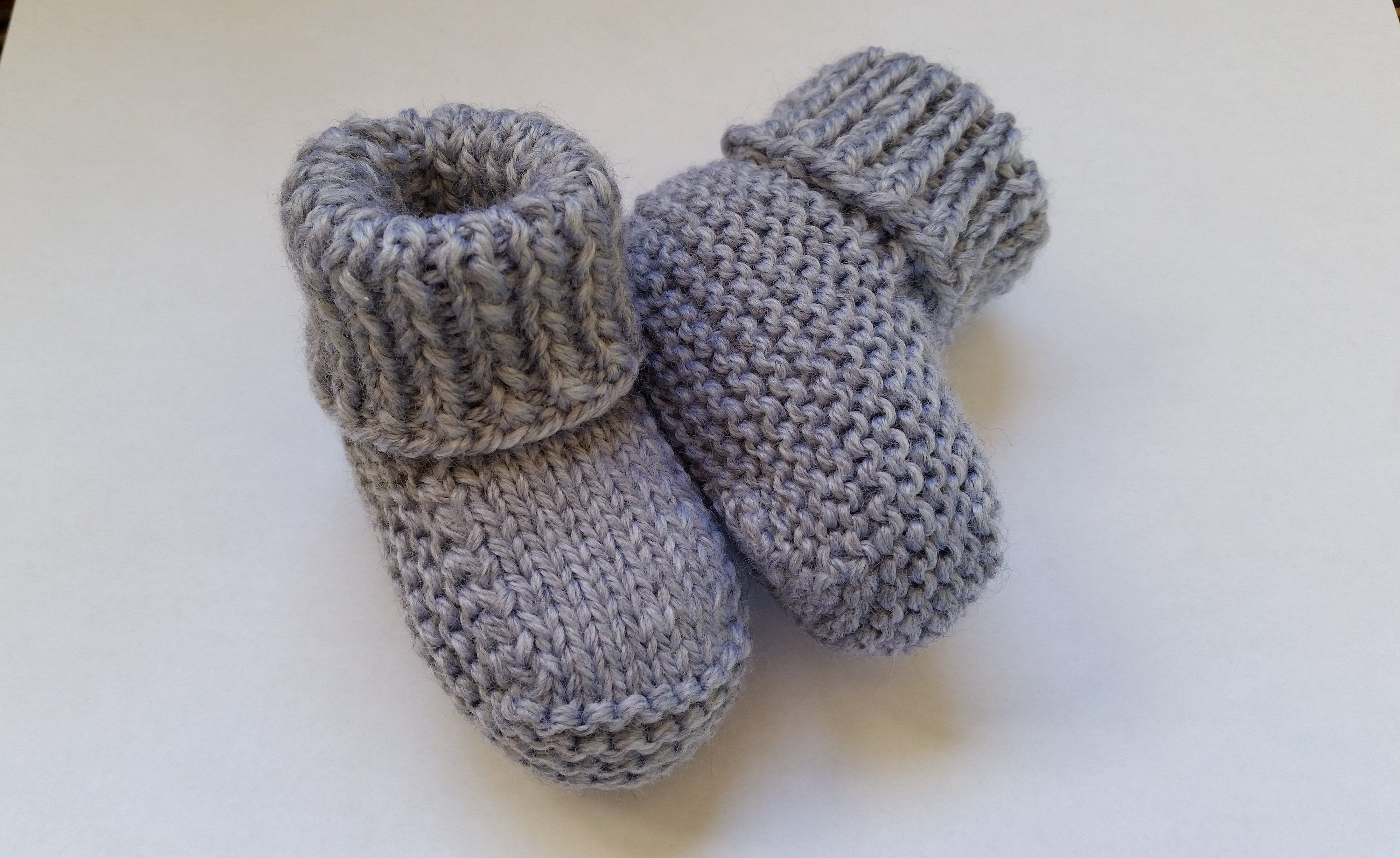 bf97a8f8532 Baby Booties, Knitted Baby Shoes, Baby Boy Booties, Newborn Booties ...