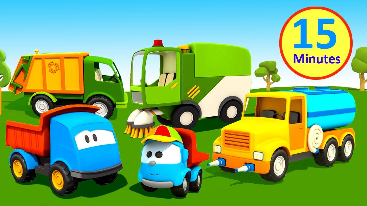 Cartoni Animati Per Bambini Leo Il Camion Ama Lambiente