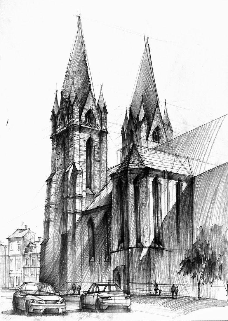 Gothic cathedral II Katedra gotycka II