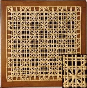 Chair Caning Patterns Caning Weaving Bamboo Weaving