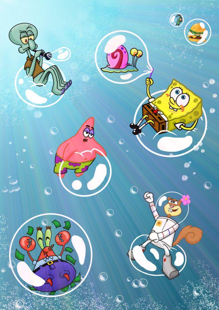 Pin Na Doske Spongebob