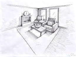 Two Point Perspective Drawing Room Ile Ilgili Görsel Sonucu