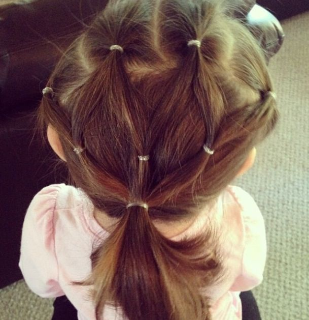 Multiple Ponytails Hairstyles For Little Girls In 2019