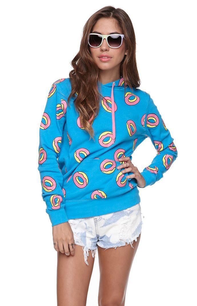 ODD FUTURE All Over Donut Hoodie #oddfuture #pacsun