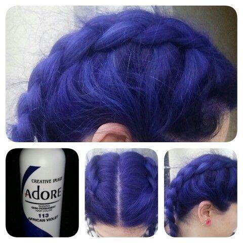 Adore African Violet Hair Dye