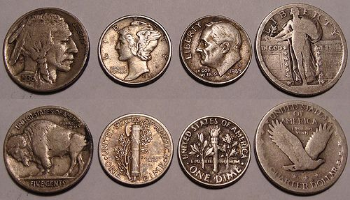 1930s u.s. coins Old coins, Coins worth money, Coin