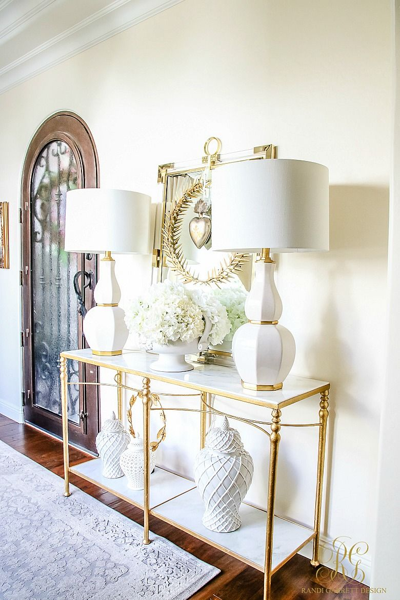 Romantic Valentine\'s Day Home Tour + Styling Tips | Foyers, Romantic ...