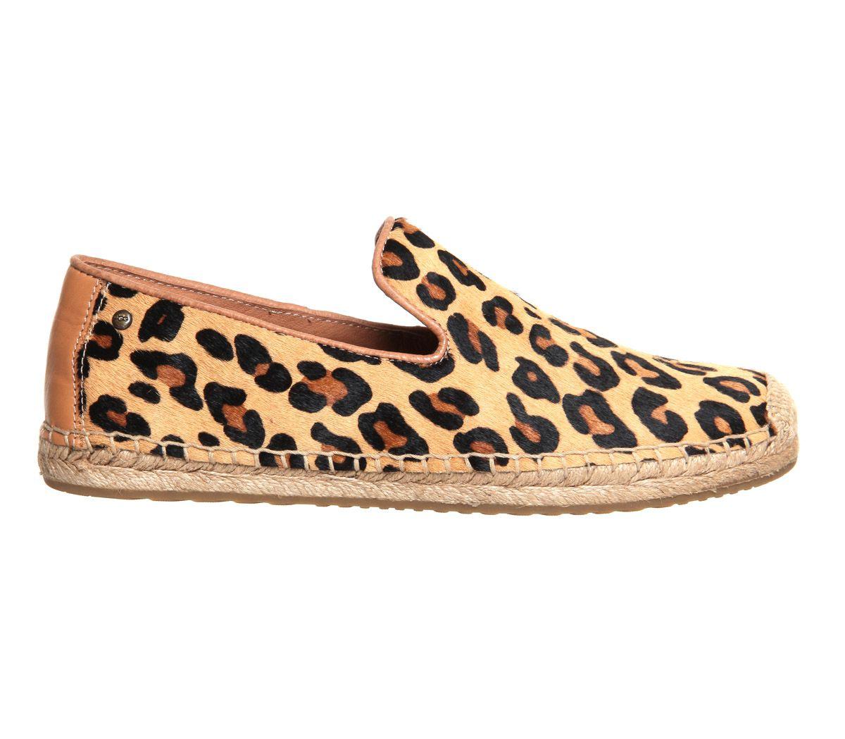 2b36ae67f1c Buy Leopard Calf Hair UGG Australia Sandrinne Espadrille from OFFICE ...