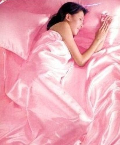 Pink Satin 6 Piece King Bedding Duvet Quilt Cover Pillowcase Fitted Sheet Set