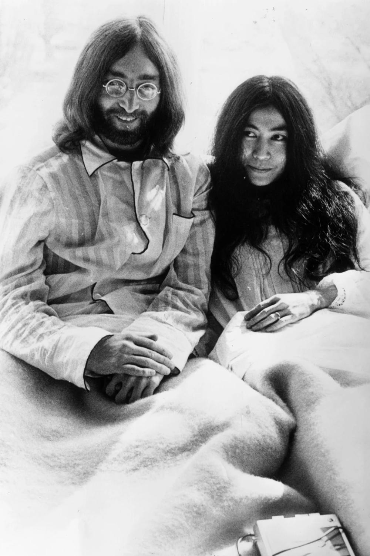 Imagine John Lennon Histoire Des Arts : imagine, lennon, histoire, Lennon, L'histoire, Cette, Image, Mythique, Couple, Après, Mariage, Yoko,