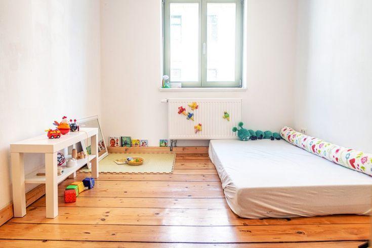 Montessori Baby Kinderzimmer ab 10 Monaten Montessori