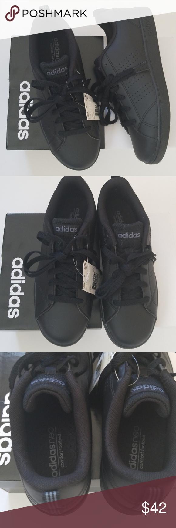 boys black adidas school shoes