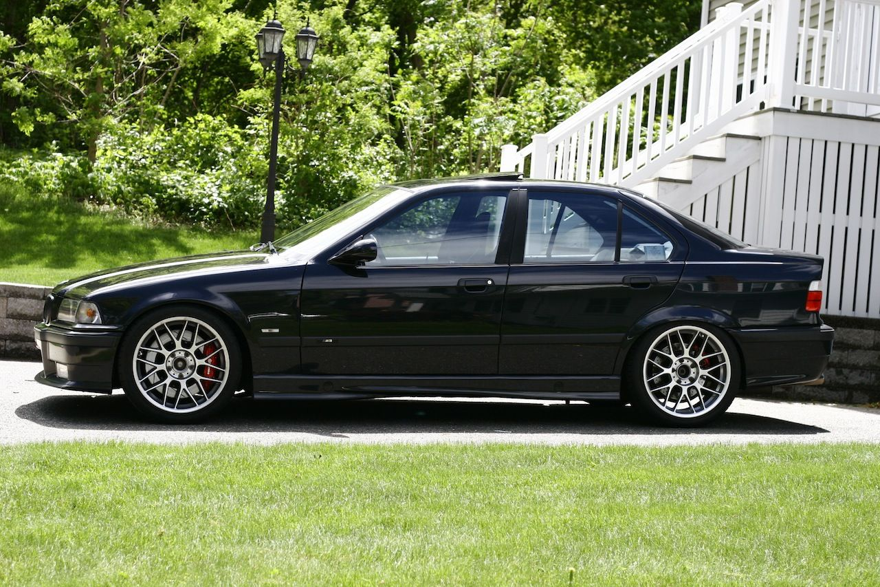 custom e36 4 door 1997 bmw m3 sedan bbs recaro dinan. Black Bedroom Furniture Sets. Home Design Ideas