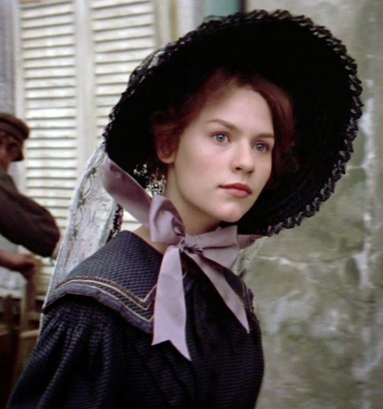 Then She Saw Her Down The Street Dressed In Beggars Clothes The Women Who Had Given Birth To Her A Common Les Miserables Historical Dresses Period Costumes