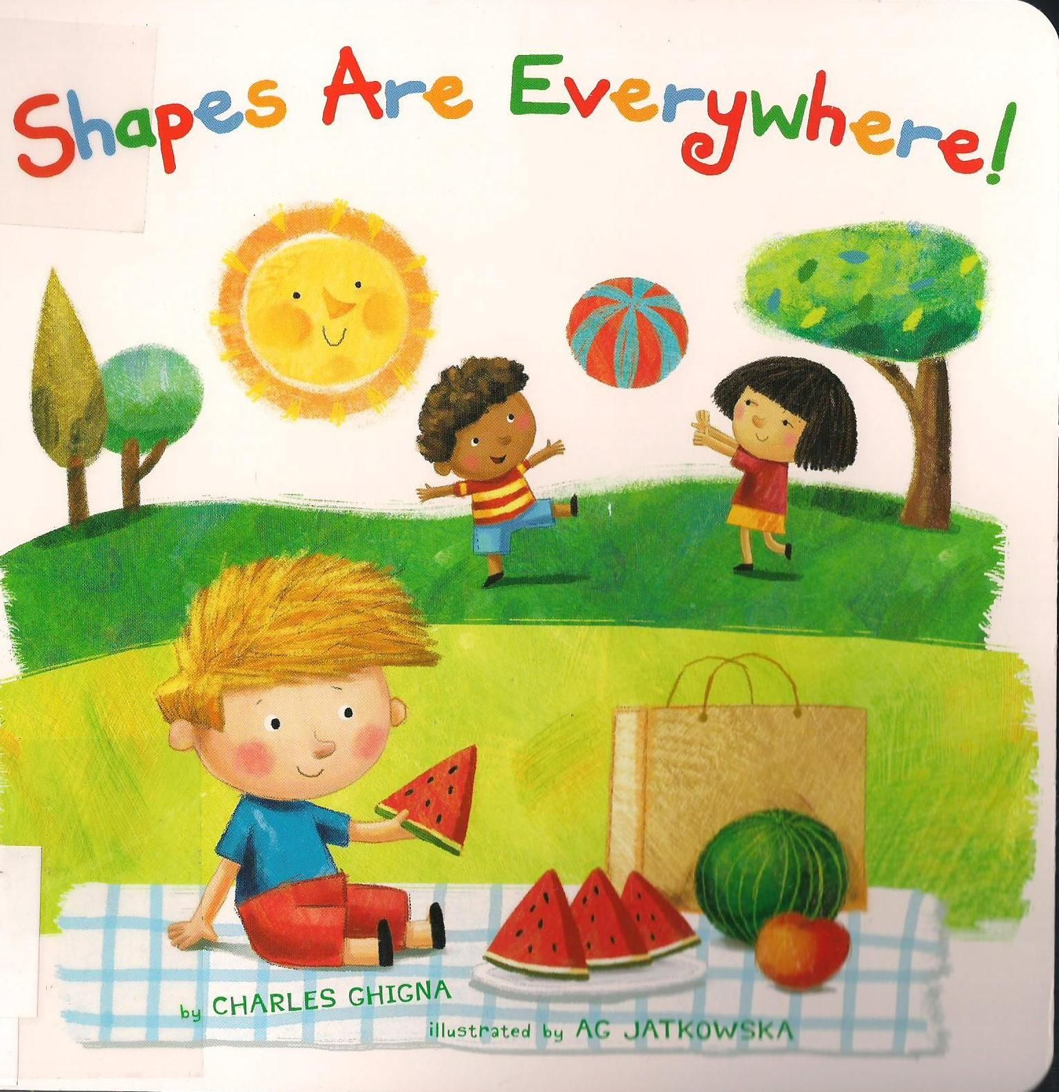 Shapes Are Everywhere By Charles Ghigna I Like This Book