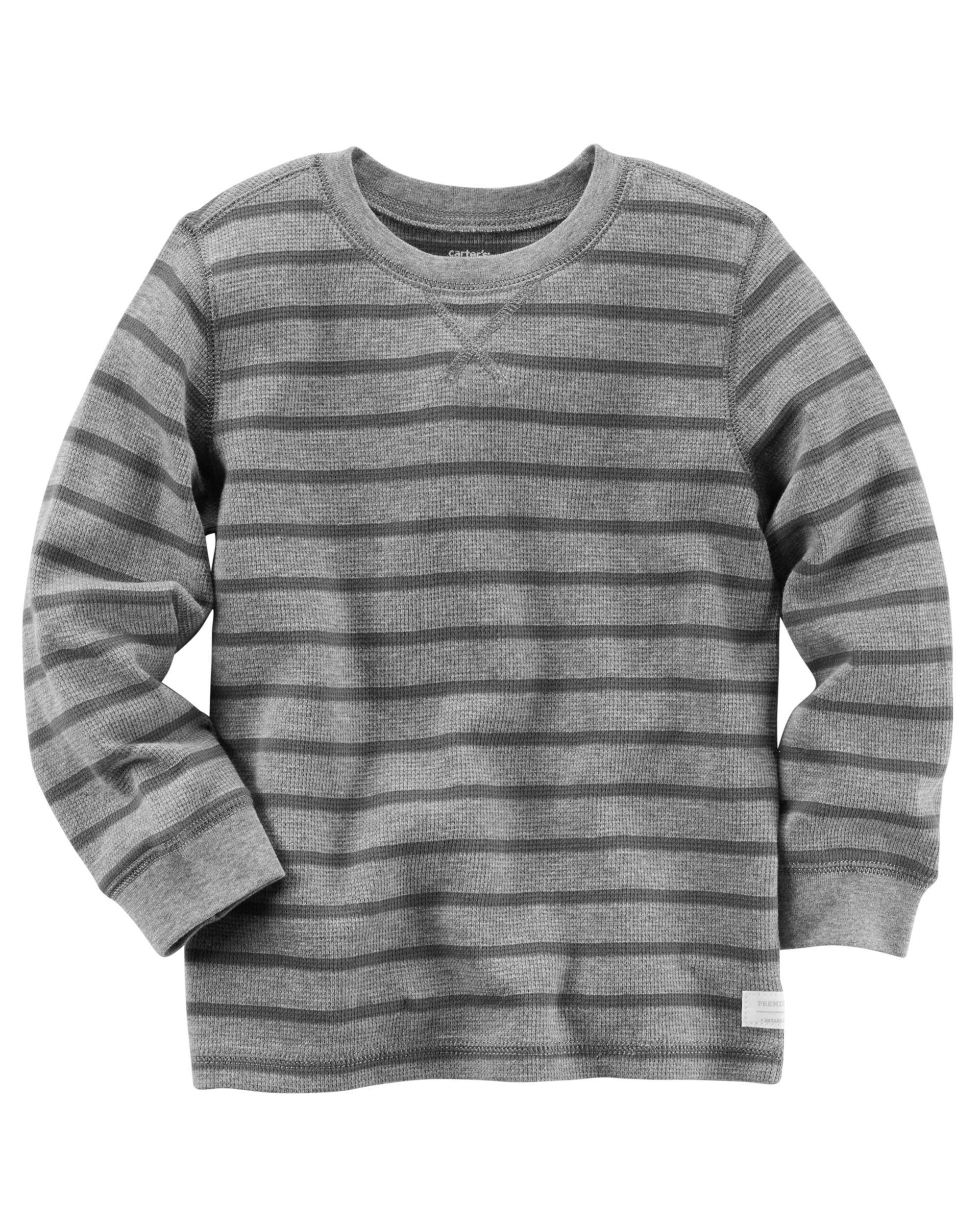 New Carter/'s Boys Gray Turtleneck Top 2T Long Sleeve Tee Shirt