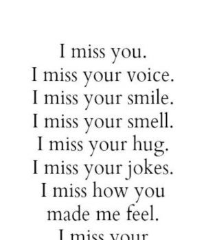 35 I Miss You Quotes for Her | Be yourself quotes, Missing ...