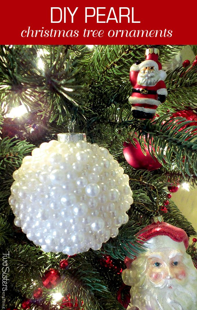 Pearl christmas tree ornaments christmas ornaments by anne these diy pearl christmas ornaments are a fun craft that results in a beautifully unique christmas solutioingenieria Images