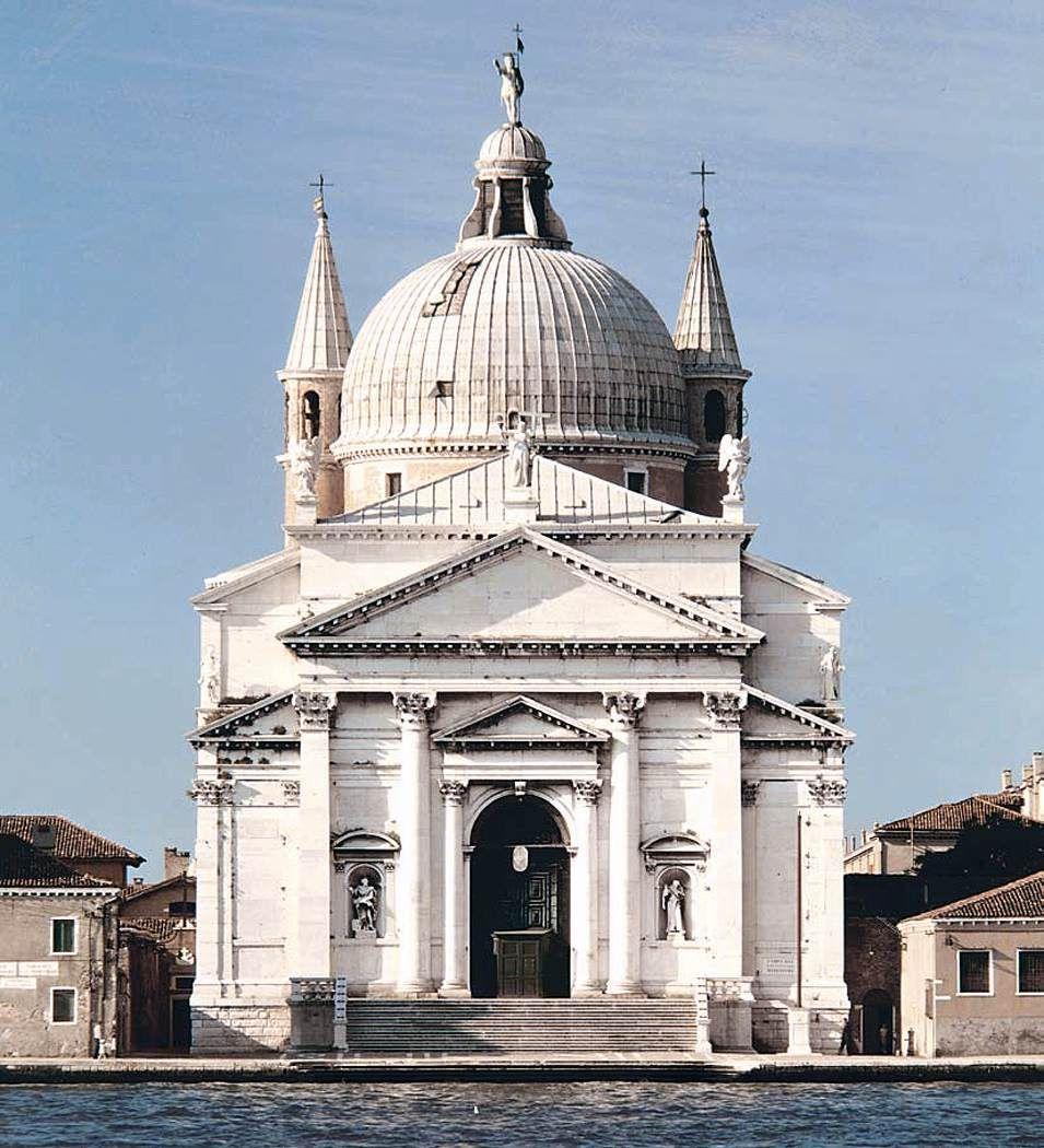 Il Redentore Venecia 1576 1577 1580 Arquitetura