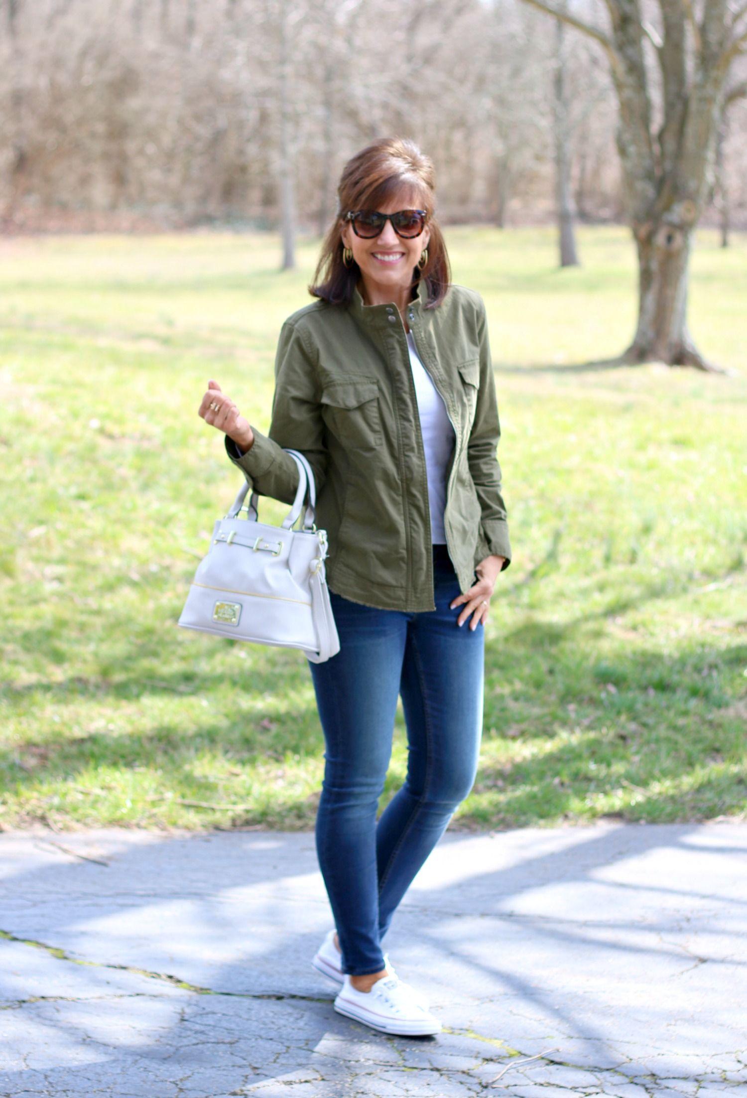27 Days of Spring Fashion: Utility Jacket - Cyndi