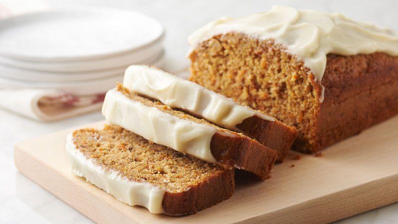 Carrot cake quick bread recipe in 2020 desserts