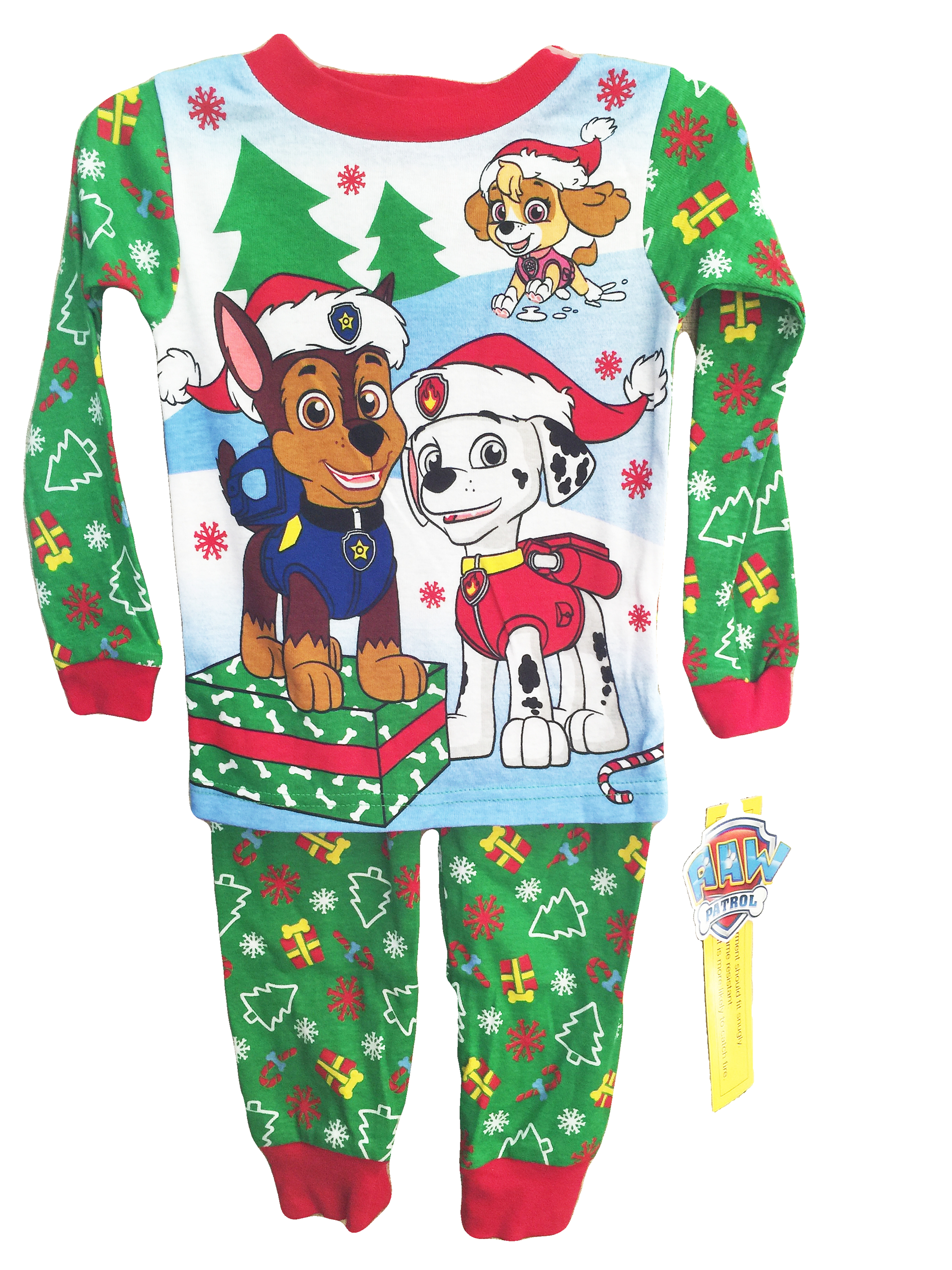 $29.99 These Paw Patrol Christmas Pajamas are a Must Have for your ...